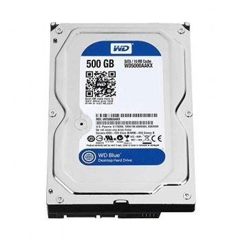 """Б\У Жорсткий диск Western Digital, SATA, 500GB, WD5003AZEX, WD Blue, 3.5"""", sata III"""