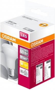 Світлодіодна лампа Osram LED STAR R63 7 W (600 Lm) 3000 K E27 (4058075282629)