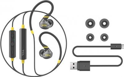 Наушники TCL ACTV100BT Bluetooth Monza Black (ACTV100BTBK-EU)