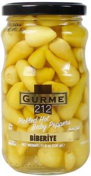 Перец маринованный Gurme 212 330 г (191822004274)