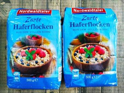 Вівсяні пластівці Nordwaldtaler Zartе Haferflocken 500 g