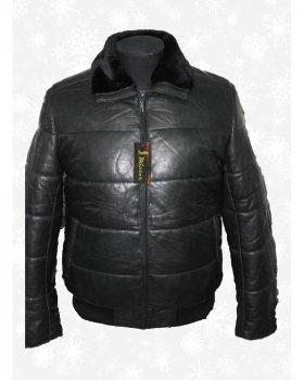 Куртка мужская кожаная Verona 98 Черный