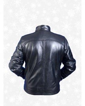 Куртка чоловіча шкіряна Verona 138 Чорний