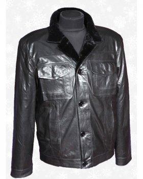 Куртка мужская с натуральным мехом Verona 36_2 Черный