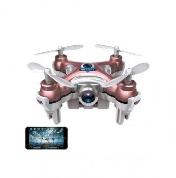Квадрокоптер Cheerson CX-10W Wi-Fi з камерою (рожевий)
