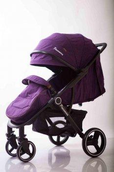 Детская прогулочная коляска книжка Voyage Panamera C689 Фиолетовый