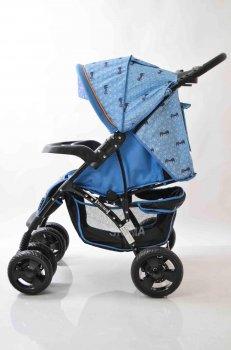 Дитяча прогулянкова коляска книжка Sigma YK-8F Синій