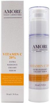 Концентрированная крем-сыворотка Amore с витамином С для сияния кожи 50 мл (4820212599590)
