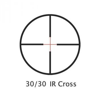 Приціл оптичний Barska Huntmaster Pro 1.5-6x42 (IR Cross)