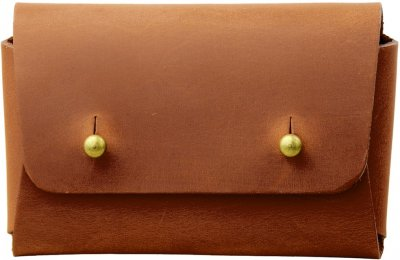 Женская визитница кожаная DNK Leather DNK-Cards-vint-colN Коричневая (2900000087972)