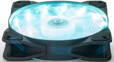 Кулер Frime Iris LED Fan 15LED Azure (FLF-HB120A15)