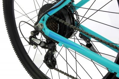 "Жіночий електровелосипед E-motion City GT 27,5"" 36v 12Ah 500w / рама 19"" блакитний (EMCGT275G)"