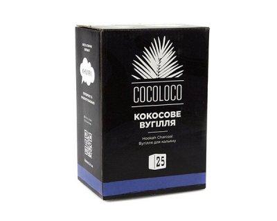 Уголь для кальяна Khmara Coco-Loco Кокосовый 1 кг (101029)
