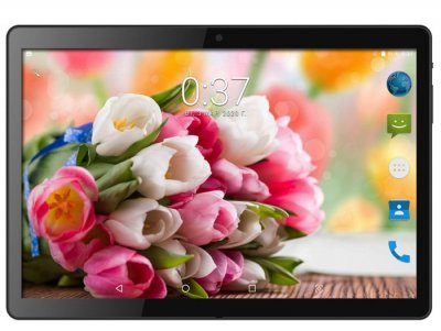 Планшет-телефон Adronix MT104 Matte Black 3GB/32GB LTE IPS 10/1'' Full HD+ Чехол-клавиатура +Карта памяти 32GB