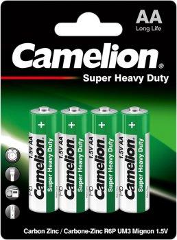 Батарейка Camelion R6 / 4 BL Green 4 шт (R6P-BP4G)