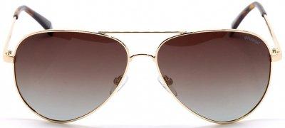 Солнцезащитные очки Polaroid PLD PLD 6012/N/NEW J5G62LA Золотые (716736240312)