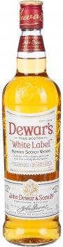 Виски Dewar's White Label от 3 лет выдержки 0.7 л 40% (5000277000906)