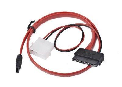 Кабель Cablexpert CC-MSATA-001(Molex)+SATA на MicroSATA, 450 мм
