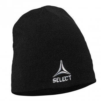 Шапка SELECT Knitted hat чорна