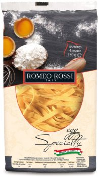 Макароны яичные Romeo Rossi Феттуччине 250 г (8056598490770)