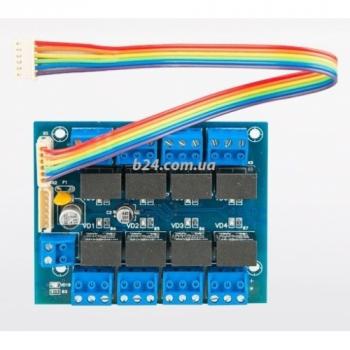 Модуль RM8 для релейних виходів контролерів RAM8, ARCP