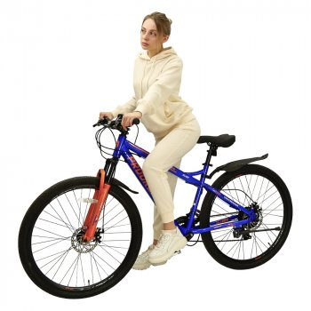 Электровелосипед PROGRESSER Glide P29 синий
