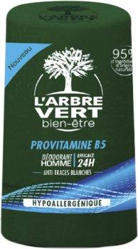 Дезодорант L'Arbre Vert для мужчин с провитамином В5 50 мл (3450601032455)