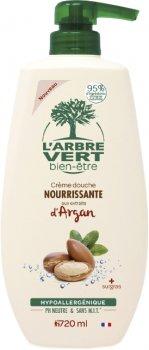 Крем-гель для душа L'Arbre Vert питательный с экстрактом арганы 720 мл (3450601032257)