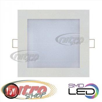 Світильник світлодіодний вбудований Horoz Electric Slim/Sq-15 15Вт(~120 Вт) 4200К квадрат (056 005 0015)