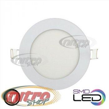 Світильник світлодіодний вбудований Horoz Electric Slim-6 6Вт(~48 Вт) 2700К круглий (056 003 0006)