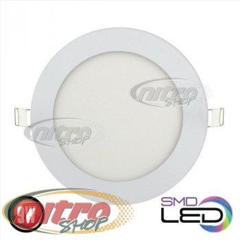 Світильник світлодіодний вбудований Horoz Electric Slim-9 9Вт(~72 Вт) 2700К круглий(056 003 0009)