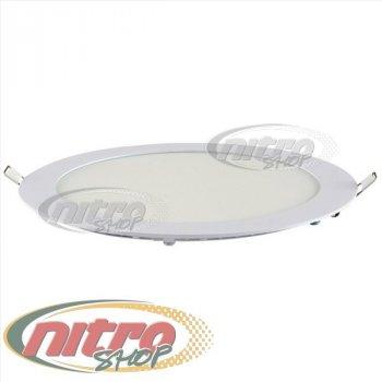 Світильник світлодіодний вбудований Horoz Electric Slim-18 18Вт(~144 Вт) 4200К круглий (056-003-00180)