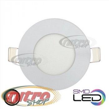 Світильник світлодіодний вбудований Horoz Electric Slim-3 3Вт(~24 Вт) 2700К круглий (056 003 0003)