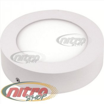 Світильник світлодіодний накладний Horoz Electric CAROLINE-12 12Вт(~96 Вт) 2700К Коло (016 025 0012)