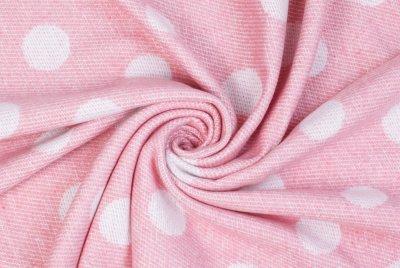 Плед Love You ly4181 Кулі 140х200 Біло-рожевий (4820000004181)
