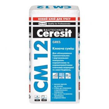 Клей для керамограніту Ceresit СМ-12 25 кг (10076815)