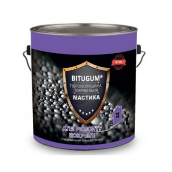 Мастика гідроізоляційна Bitugum для покрівлі 5 кг 11610984