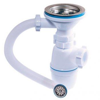 Сифон для кухонной мойки с переливом Waterstal D 90 А-5007 11058341