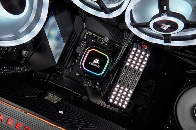 Система водяного охлаждения Corsair iCUE H115i RGB PRO XT (CW-9060044-WW), Intel: 2066/2011/1200/1151/1150/1155/1156, AMD: TR4/AM4/AM3/AM2, 322х137х27 мм