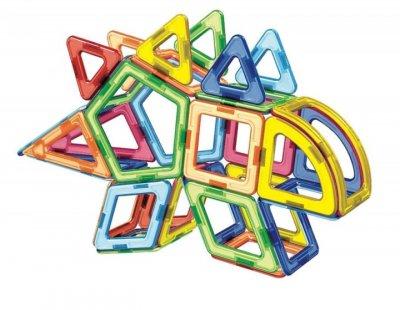 3D магнитный конструктор МАГНІКОН, 65 дет. DINO