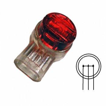 Соединитель витой пары скотчлок Scotchlok на три жилы, 100 штук (KD-TM042-R)