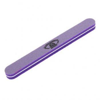 Пилка - баф для нігтів Global Fashion (фіолетова)