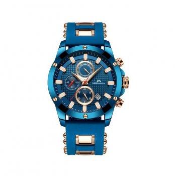 Годинники чоловічі Megalith 0140M Blue-Cuprum