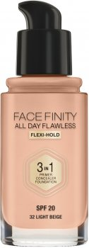 Тональная основа Max Factor Facefinity All Day Flawless 3 в 1 №32 Light Beige 30 мл (3614227923256)