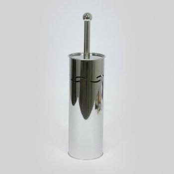 Йоржик для туалету SENSEA Olas металевий хром (10250534)