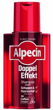 Шампунь Alpecin Double Effect с кофеином от выпадения волос против перхоти 200 мл