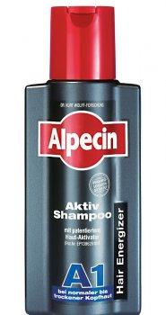 Шампунь Alpecin A1 Hair Energizer от выпадения волос для нормальной и сухой кожи головы 250 мл