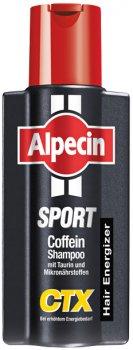 Шампунь Alpecin SPORT CTX Hair Energizer от выпадения волос при интенсивной потери энергии 250мл