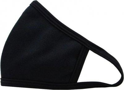 Набор защитных масок для лица Anmerino многоразовых Размер S/M 3 шт Черные (202720885)
