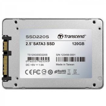 "Накопичувач SSD 2.5"" 120GB Transcend (TS120GSSD220S)"